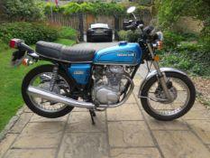 1976 Honda CB36 Registration number OVT 408P Frame number CB3602207944 Engine number CB360E