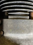 Assorted Velocette spares: Venom engine