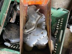 Assorted Velocette spares: Engine timing covers