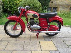 1964 James Commodore 250 Frame number GL 2051553 Engine number A29D 12584 Partly restored,