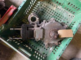 Assorted Velocette spares: MAC engine bottom half