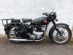 1955 BSA A10 Golden Flash Registration number 318 XUT Frame number BA75-16056 Engine number B10-