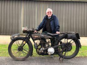 1927 James Model 11 Registration number YB 8667 Frame number P591 Engine number SS 3178 Totally