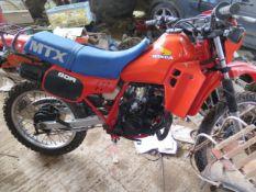 1983 Honda MTX 80 R Registration number JWR 728Y Frame number HD 08 1000292 Engine number HD08E
