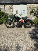 1955 Velocette Scrambler Being sold without reserve Frame number TBA Engine number MSS 10566 From