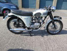 1963 Triumph Tiger 90 Registration number KAS 996 Frame number H29888 Engine number H29888