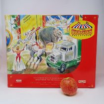 A Lledo The Circus Collection AEC Mammoth Ballast box with Generator, a Showmans Helter Skelter, a