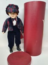 A H Samuel Christmas 2000 limited edition porcelain doll, boxed, and various other dolls and