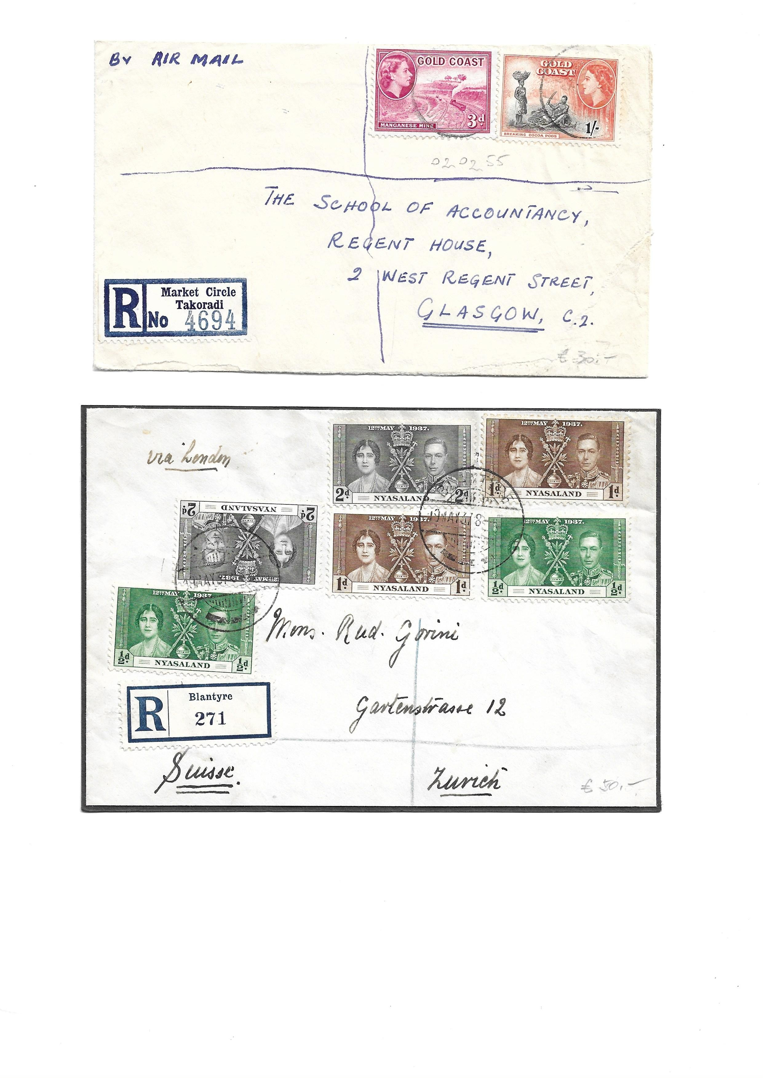British Commonwealth Postal history selection of 12 attractive covers with Papua, Antiqua, Barbados, - Image 4 of 7