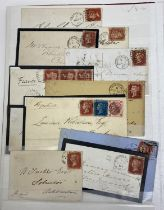 Great Britain 1858-79 1d red Plate numbers issue, a fine complete collection of plates 71-224 (excl.