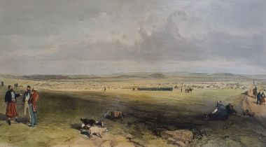 After W Simpson, Camp OF The Light Division, print 30 x 50 cm and various other military related