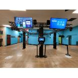 HOLOGATE-4 PLAYER SYSTEM DELIVERABLES INCLUDE POWDER COATED TRUSS SYSTEM WITH THEMED HOLOGATE PANEL