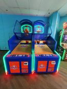 ICE NBA GAMETIME 2 PLAYER BASKETBALL ARCADE GAME
