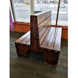 LOT OF WOODEN BENCHES