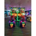 RAW THRILLS INC. NINTENDO CRUIS'N BLAST 2 PLAYER CAR RACING ARCADE GAME