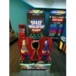RAW THRILLS INC. SPACE INVADERS FRENZY 2 PLAYER ARCADE GAME
