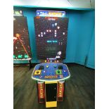 RAW THRILLS INC. WORLDS LARGEST PAC-MAN/GALAGA 2 PLAYER ARCADE GAME