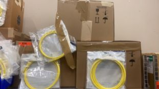 LEVITON ATLAS X-1 SLIMLINE 3 BOXES OF FIBEROPTIC CABLES