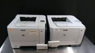 LOT OF 2 HP P3015 PRINTERS LOCATED AT: 2440 GREENLEAF AVE, ELK GROVE VILLAGE IL