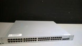 CISCO SYSTEMS MERAKI MS210-48FP SWITCH LOCATED AT: 2440 GREENLEAF AVE, ELK GROVE VILLAGE IL