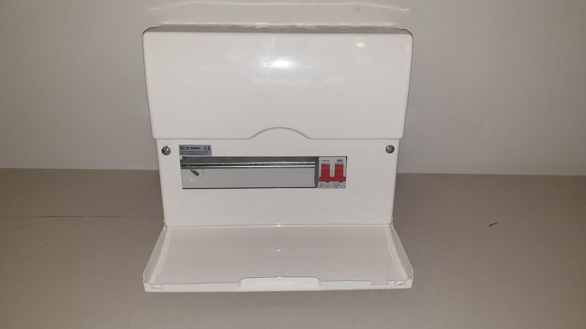 10 X FUSE BOX 230 V