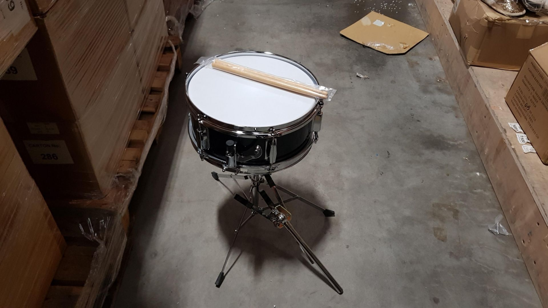 10 X BRAND NEW MINI SNARE DRUM KIT WITH DRUM PARTS