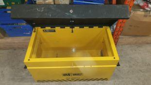 1 X LOCKABLE VAN VAULT KEY INCLUDED SIZE 92 X 56 X 51 CM