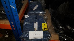 9 X BRAND NEW TOPSHOP JEANS IN VARIOUS STYLES AND SIZES IE 5 X SIZE 8 UK, 2 X SIZE 16 UK AND 2 X