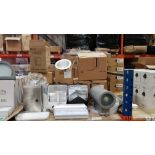 MIXED TRADE LOT CONTAINING, WALL MOUNTED SPECTRE LIGHT WITH GREY FINISH, WHITECROFT LED