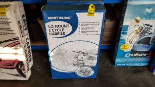 2 X BRAND NEW MONT BLANC LO MOUNT 3 CYCLE CARRIER