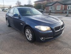 BLUE BMW 525D SE AUTO. ( DIESEL ) Reg : LD62CTO, Mileage : 95332 Details: WITH 1 KEY, ENGINE SIZE