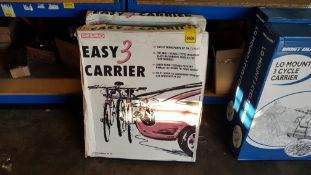 2 X BRAND NEW DESMO 3 CYCLE CARRIER