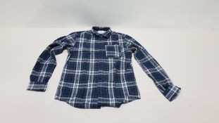 17 X BRAND NEW JACK & JONES LONG SLEEVED BUTTONED T-SHIRT SIZE SMALL