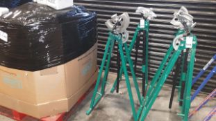 2 X GREEN PIPE BENDERS