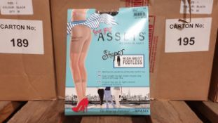 36 X BRAND NEW SPANX BLACK HI- WAISTED FOOTLESS SHAPER SIZE 1 RRP $16.00