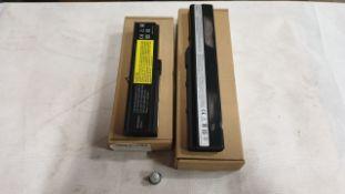 34 X ASSORTED LAPTOP BATTERIES - QBEK00121-KK, QBEK00073KP, QBEK00212KP AND QBEK00005_67_UK