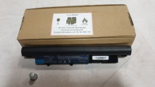 24 X ASSORTED LAPTOP BATTERIES - QBEK00342_236_UK, QBEK00239KP, QBEK00370KP AND QBEK00023KK