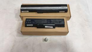 36 X ASSORTED LAPTOP BATTERIES - QBEK00074KP, QBEK00015KP AND QBEK00292_94_UK