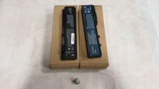 37 X ASSORTED LAPTOP BATTERIES - QBEK00020KP, QBEK00065KP, QBEK00183-KP AND QBEK00114-KK
