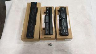 36 X ASSORTED LAPTOP BATTERIES - QBEK00227KP, QBEK00015KP, QBEK00124KP AND QBEK00375KP