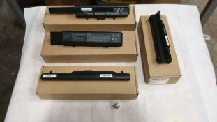 24 X ASSORTED LAPTOP BATTERIES - QBEK00168KK, QBEK00129KP, QBEK00322KP AND QBEK00126_30_UK