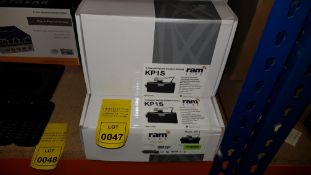 5 X BRAND NEW RAM LIVE KP1S 2 CHANNEL VEHICLE INCIDEN CAMERAS