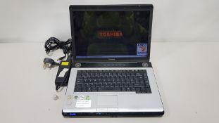 TOSHIBA 1210 LAPTOP WINDOWS VISTA BUSINESS INCLUDES CHARGER