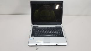 TOSHIBA A110 LAPTOP NO CHARGER INCLUDED