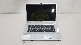 SONY FW315 LAPTOP NO CHARGER INCLUDED