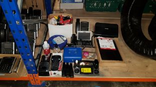 APPROX 60 + PIECE MIXED OFFICE LOT CONTAINING DYMO LABELMANAGER 160,BROTHER ADS2010 MINI PRINTER,