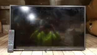 """1 X TECHNIKA 32"""" LED TV FULL 1080 HD HDMI AND FREEVIEW INCLUDES REMOTE AND LEADS"""