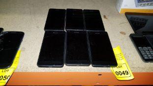 6 X MICROSOFT PHONES