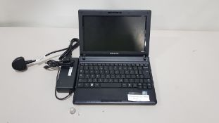 SAMSUNG N145 PLUS LAPTOP NO O/S INCLUDES CHARGER