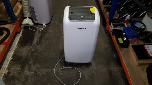1 X AMCOR AC12 PORTABLE AIR CONDITIONING UNIT AND DE-HUMIDIFIER